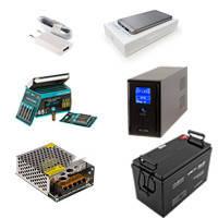 ИБП, зарядные устройства и аккумуляторы