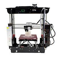 MY-2 черный/красный/зеленый/желтый высокоточный рабочий стол DIY 3D-принтер 210 * 210 * 210 мм Размер печати 1,75 мм 0,4 мм сопло