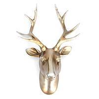 Resin Mini Exotic Deers Antlers Ornament Деликатный подарок подарков Home Office Decor Decor
