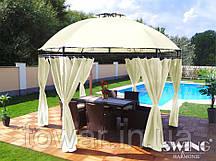 Павильон садовый альтана шатер LAVO (Ø): 3.50 м +LED
