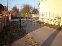 Кованые ворота В-26
