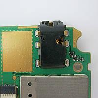 Коннектор гарнитуры Hands-Free, гнездо наушников для Lenovo A516 (Б/У, разборка)