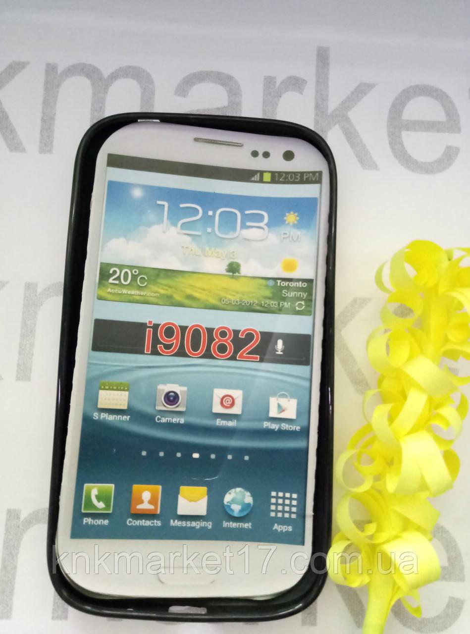 Case  for Samsung i9082, силикон,черный