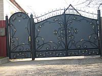 Кованые ворота В-33, фото 1