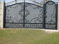 Кованые ворота В-34, фото 1