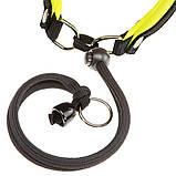 Шлея нейлон для собак AGILA FLUO 4 Ferplast (Ферпласт) с мягкой подкладкой и двойной микрорегулировкой, цвет в, фото 5