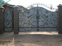 Кованые ворота В-35, фото 1