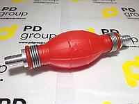 Груша насос ручной помпа 6мм, 8 мм, 10 мм, 12 мм подкачки перекачки масла химии топлива БЕНЗИН ДИЗЕЛЬ.