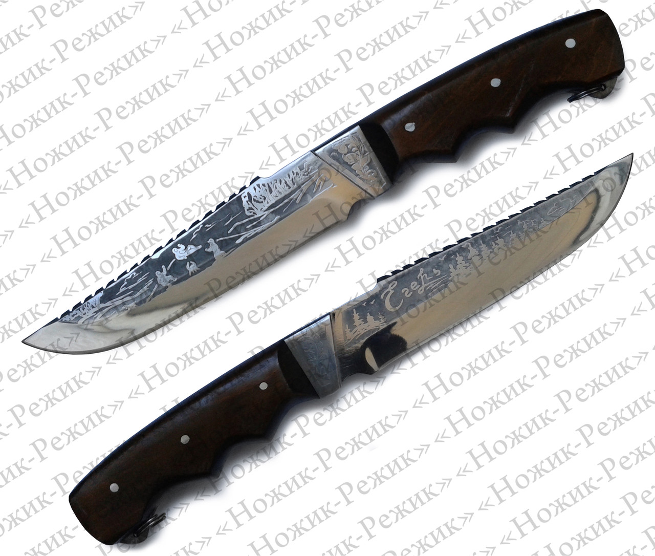 Нож для охоты, нож Егерь, нож для рыбалки, туристический нож