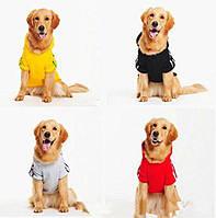 PetСобакаЗимняяодеждадлякуртки для больших Собака Золотистый ретривер Лабрадор Собака Толстовка с капюшоном Спортивный стиль