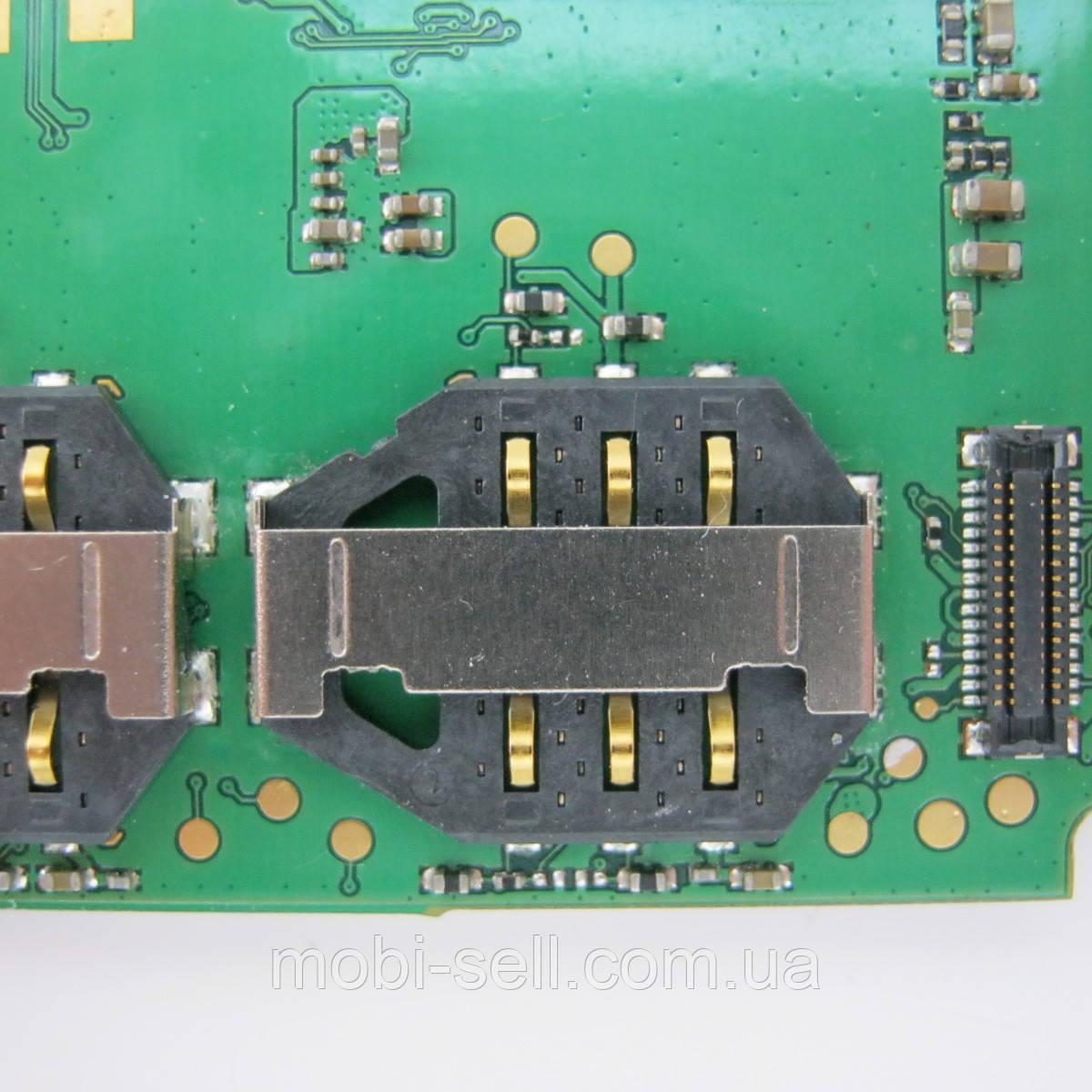 Коннектор SIM карты для Lenovo A516 (Б/У, разборка)
