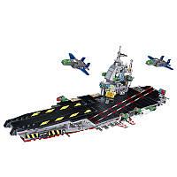БлокивоздушныхсудовВоенныйСамолетыКорабль 8 в 1 Строительные блоки 680+шт Детские игрушки