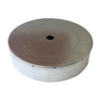 Дека для дымохода 220 мм из оцинкованной стали «Версия Люкс»
