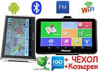 Pioneer M515 + AV Андроид GPS Навигатор с Wifi Ips Мультитач экран 7 дюймов