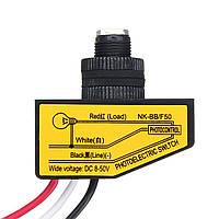 8-50VDC Фотоэлемент Датчик Дневной свет до рассвета Датчик Фотоэлектрический переключатель Датчик Автоматический свет C