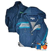 Детская весенняя куртка и кофта, для мальчика  1-5 лет, 5 ед. в уп.