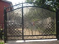 Ворота из профнастила В-49