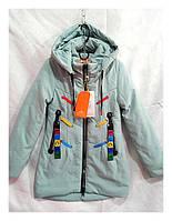 Куртка детская для девочек весна-осень с 128 до 152