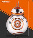Робот дроид Sphero BB-8 Star Wars  2,4Gh (дополненная водоплавающая версия), фото 8
