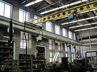 Монтаж вентиляции промышленного и производственного помещения