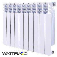 Радиатор биметаллический GRUNHELM - GR500-80 (10 секций) (1400 Вт) (батарея отопления)