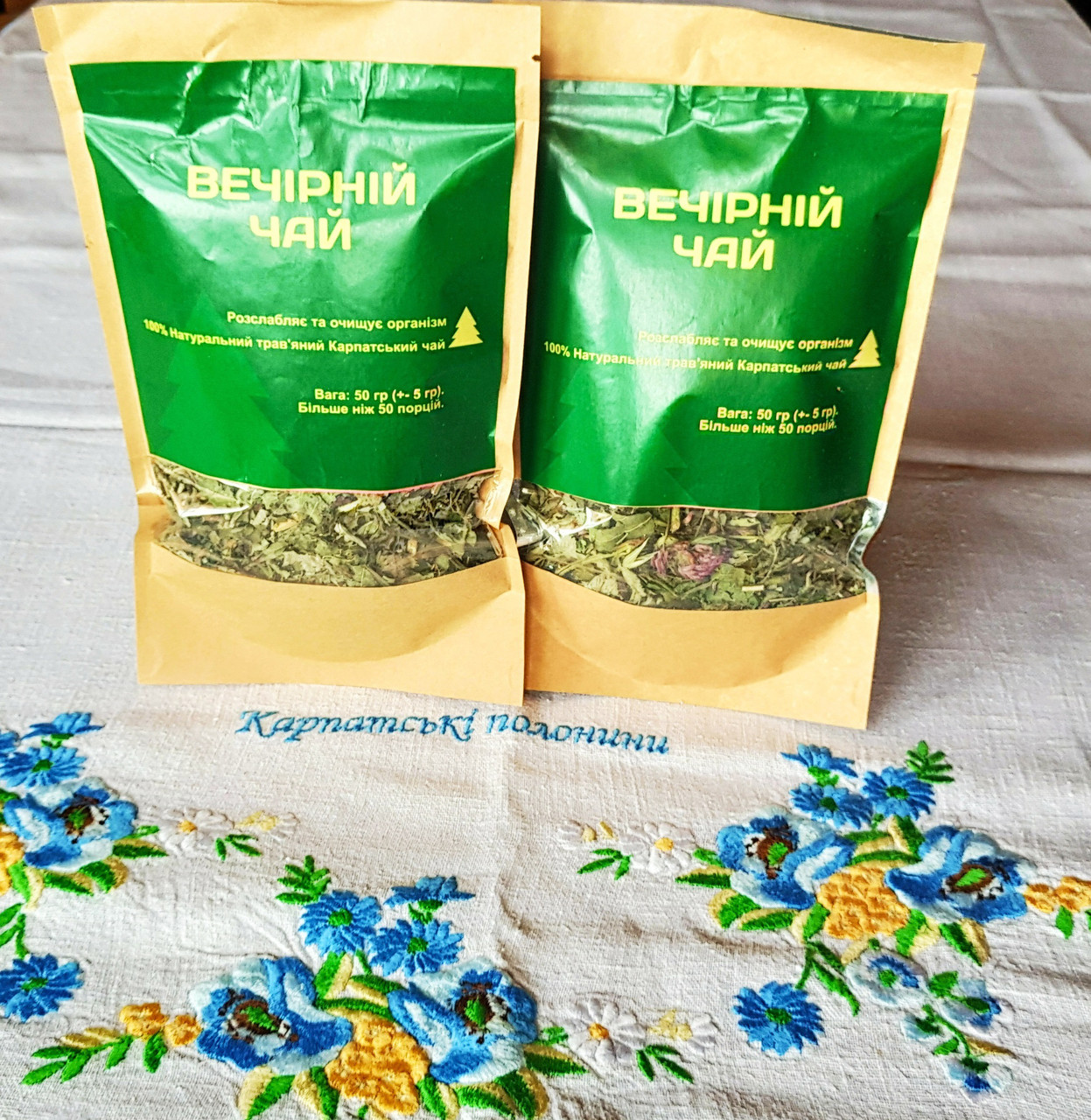 Эко Чай Карпатский вечерний травяной