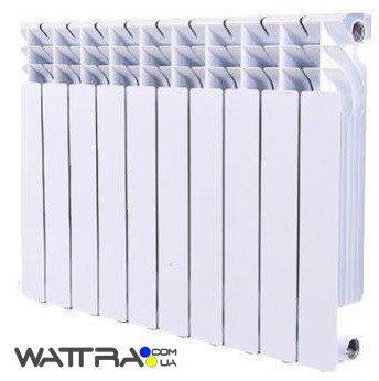 Радиатор биметаллический GRUNHELM - GR500-100 (10 секций)  (1600 Вт) (батарея отопления)