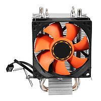 8cm CPU Cooler Бесшумный Вентилятор радиатора для LGA775/1156/1155 AMD/AMD2/AM2+AM3/FM1