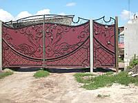 Ворота з профнастилу В-52