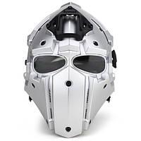 WoSporT Full Face Helmet Модульный защитный чехол для мотоцикл Tactical Airsoft Военный Обучение