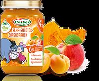 Яблоки, тыква, абрикосы пюре/от 4 мес/Венгрия