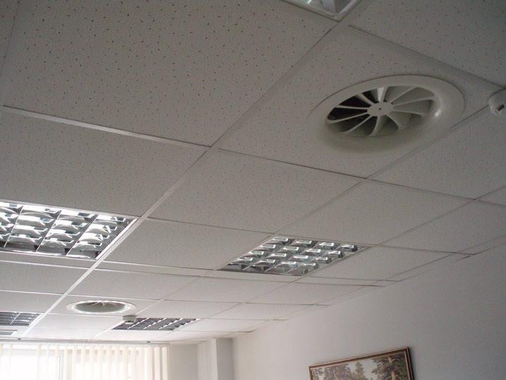 Монтаж вентиляції в навчальному приміщенні