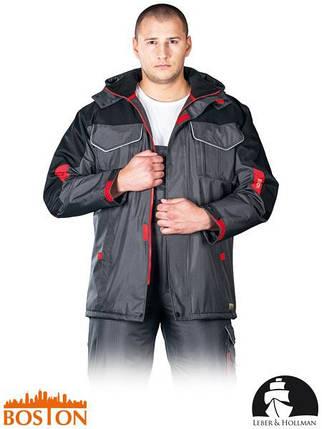 Куртка BOSTON рабочая утепленная с водоотталкивающей пропиткой LH-BSW-LJ SBC, фото 2