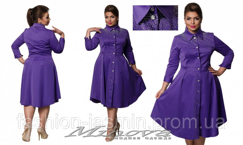 Платье №323б (сирень)