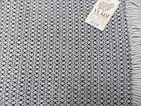 Плед Vladi Dolce Vita бело-серый 140*200