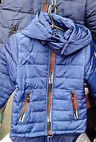 Весенняя куртка для мальчика  рр 2-8 лет