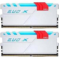 Модуль памяти для компьютера DDR4 16GB (2x8GB) 3200 MHz EVO X GEIL (GEXG416GB3200C16ADC)