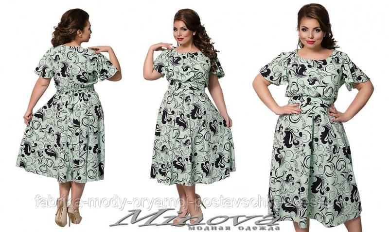 Платье №820 (ментол)