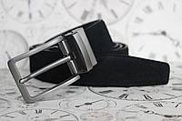 Мужской ремень двухсторонний кожаный