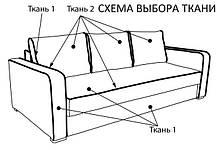 Диван Ерік Бонд-15 LT Grey (Comfoson ТМ), фото 2