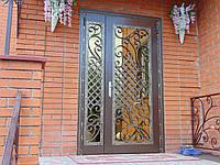 Вхідні двері металеві Д-104