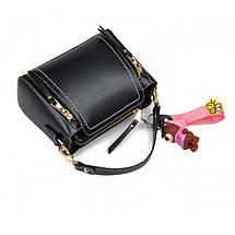 Сумка женская Amelie Mini черная eps-6045, фото 2