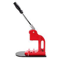 25 мм Красный металлический значок Punch Press Pin Circle Кнопки Parts Printing Mold Machine Maker