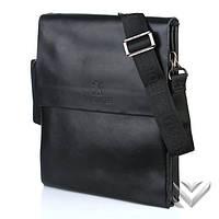 Мужская сумка через плечо bradford 886-1 черная
