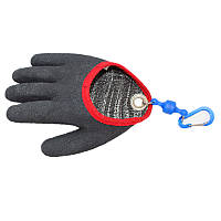 БобыЧерныеСерыеAnti-CutПротирочные5 Пальцев Рыбалка Перчатки С магнитной пряжкой
