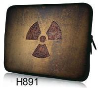 """Чехол для планшета/нетбука 12.2"""" гламур HQ-Tech H891 """"Радиация"""", неопреновый"""