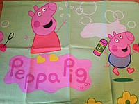 Наволочки 50х70 Свинка Пеппа 1набор - 2шт