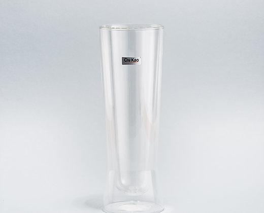 """Стеклянный стакан с двойным стеклом""""CHI KAO"""" 350мл."""