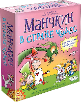 Манкин в стране чудес Купить - Веселая детская настольная игра
