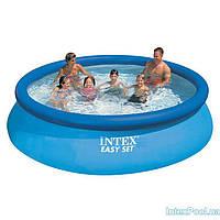 Круглый надувной бассейн Intex 28130 Easy Set 366x76 см